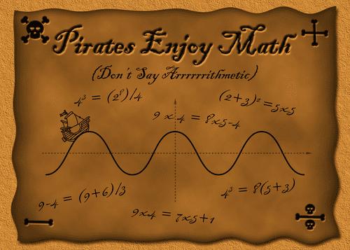 Pirates Enjoy Math (Don't Say Arrrrrrithmetic)