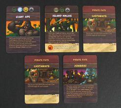 Pirates vs. Dinosaurs Expansion Cards