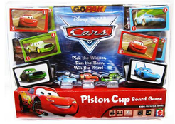Piston Cup Board Game