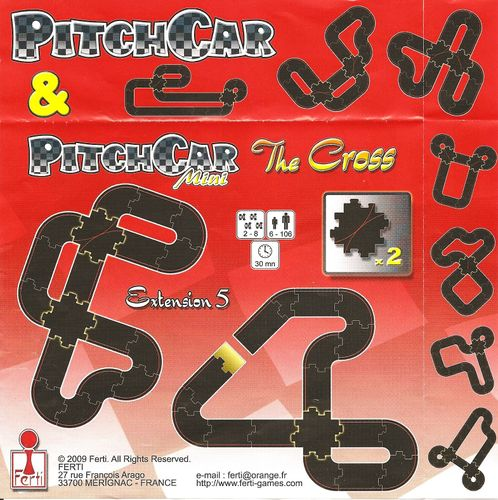 PitchCar Mini: Extension 5 – The Cross