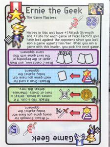 Pixel Tactics: Game Geek / Ernie the Geek