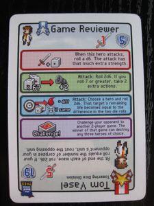 Pixel Tactics: Game Reviewer/Tom Vasel