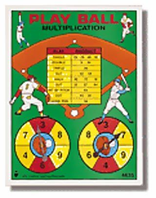 Play Ball Multiplication