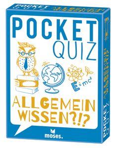 Pocket Quiz: Allgemeinwissen (2019 edition)