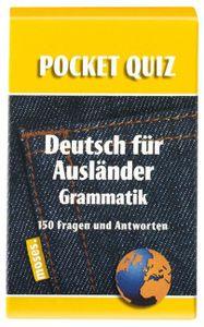 Pocket Quiz: Deutsch für Ausländer Grammatik