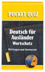 Pocket Quiz: Deutsch für Ausländer Wortschatz