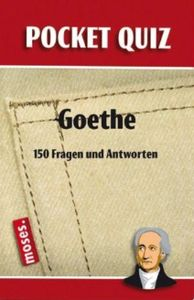 Pocket Quiz: Goethe
