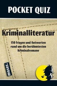 Pocket Quiz: Kriminalliteratur