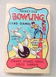 Pocket Size Bowling Card Game