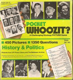 Pocket Whoozit?- History & Politics
