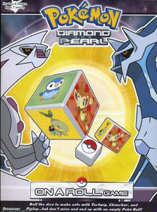 Pokemon Diamond and Pearl On a Roll Game