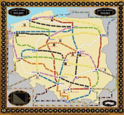 Poland (Fan expansion of Ticket to Ride)