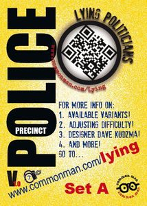 Police Precinct: Lying Politicians