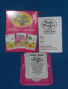 Polly Pocket Pollyville Card Game