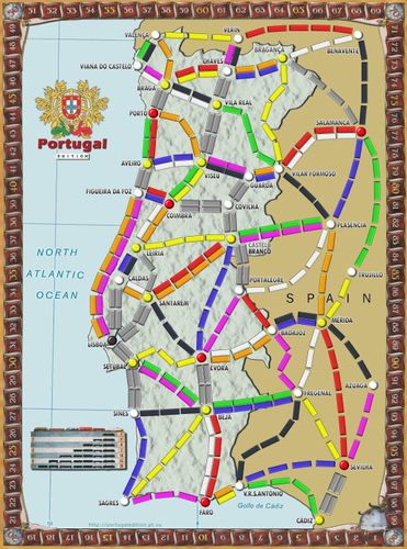Portugal (fan expansion for Ticket to Ride)