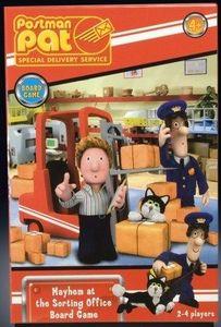Postman Pat Mayhem at the Sorting Office Board Game
