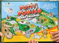 Potty Ponies And Friends!