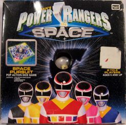 Power Rangers in Space: Space Pursuit Pop Action Dice Game
