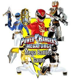 Power Rangers Megaforce: Mega Battles Game