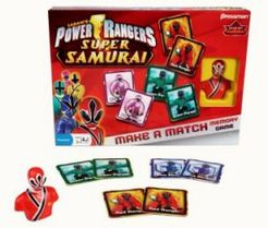 Power Rangers Super Samurai Make A Match Memory Game