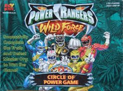 Power Rangers Wild Force Circle of Power Game