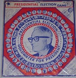 Presidential Election Game: Goldwater For President