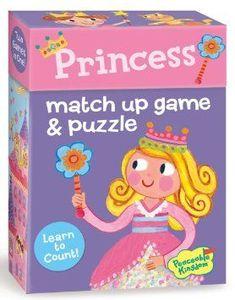 Princess Matchup Game and Puzzle
