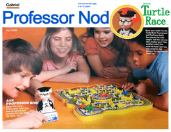 Professor Nod and his Turtle Race