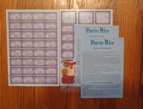 Puerto Rico: Expansion II – The Nobles