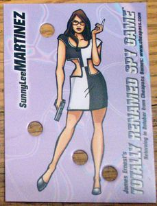 Punch Cards: Spy Game