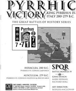 Pyrrhic Victory: SPQR Module