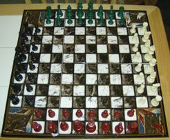 Quad Kingdom Chess