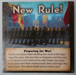 Quartermaster General: Alternate Histories – Preparing for War! Promo Tile