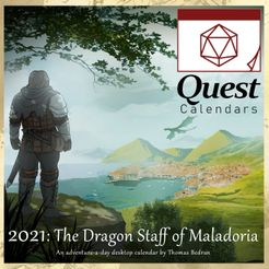 Quest Calendar: The Dragon Staff of Maladoria