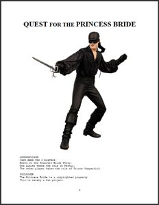 Quest for the Princess Bride