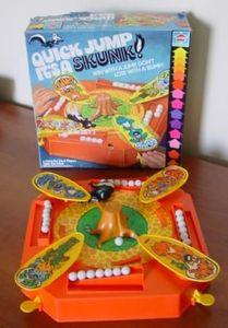 Quick Jump It's a Skunk!