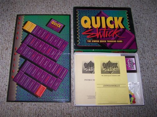 Quick Shtick: The Jewish Quick Thinking Game