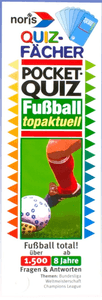 Quizfächer Pocketquiz Fußball topaktuell