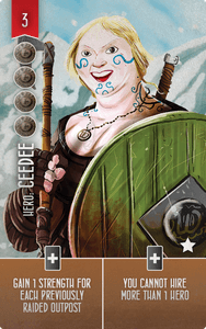 Raiders of the North Sea: Ceedee Promo Card