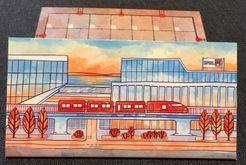 Railroad Ink: Promo Board #2 – Red Train