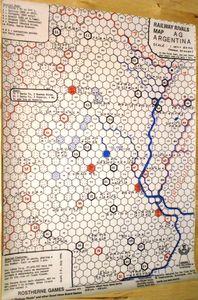 Railway Rivals Map AG: Argentina