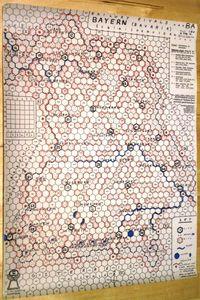 Railway Rivals Map BA: Bavaria
