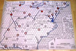 Railway Rivals Map EU: Eastern U.S.A.