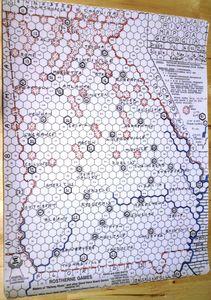 Railway Rivals Map GA: Georgia
