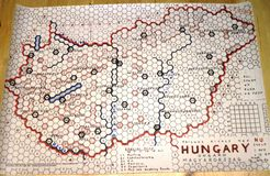 Railway Rivals Map HU: Hungary
