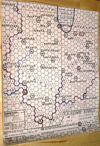 Railway Rivals Map II: Illinois and Indiana