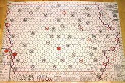 Railway Rivals Map IO: Iowa
