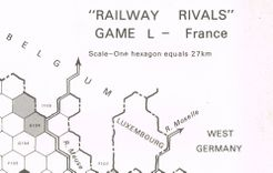 Railway Rivals Map L: France