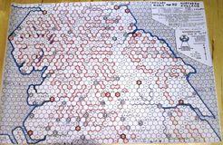 Railway Rivals Map NO: Northern England