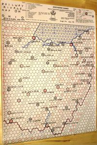 Railway Rivals Map OH: Ohio